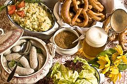 a real Bavarian snack