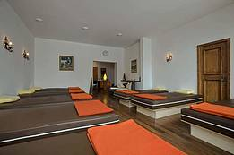 relaxation room in the main house